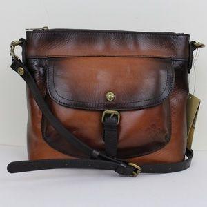 Patricia Nash Stain Leather Tuscania Shoulder Bag
